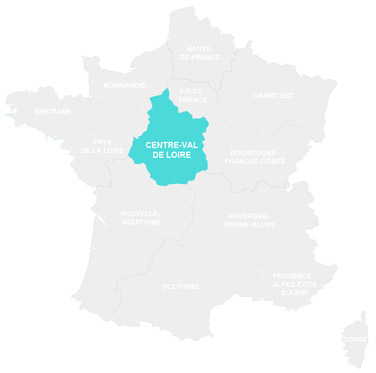 Campings en Centre Val de Loire - France