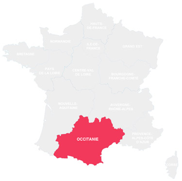 Campings en Occitanie - France