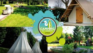 Camping 3 étoiles de l'Aigrette – Attichy (60)