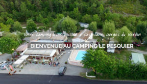 Camping 2 étoiles Le Pesquier – Castellane (04)