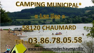 Camping 1 étoile Les Iles – Chaumard (58)