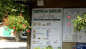 Camping 2 étoiles des Barolles – Saint-Genis-Laval (69)