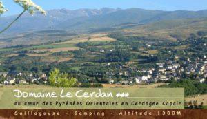 Camping 3 étoiles Le Cerdan – Saillagouse (66)