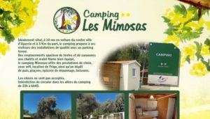 Camping 2 étoiles Les Mimosas – Ajaccio (2A)