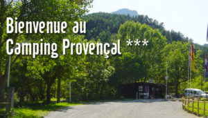 Camping 3 étoiles Provençal – Castellane (04)